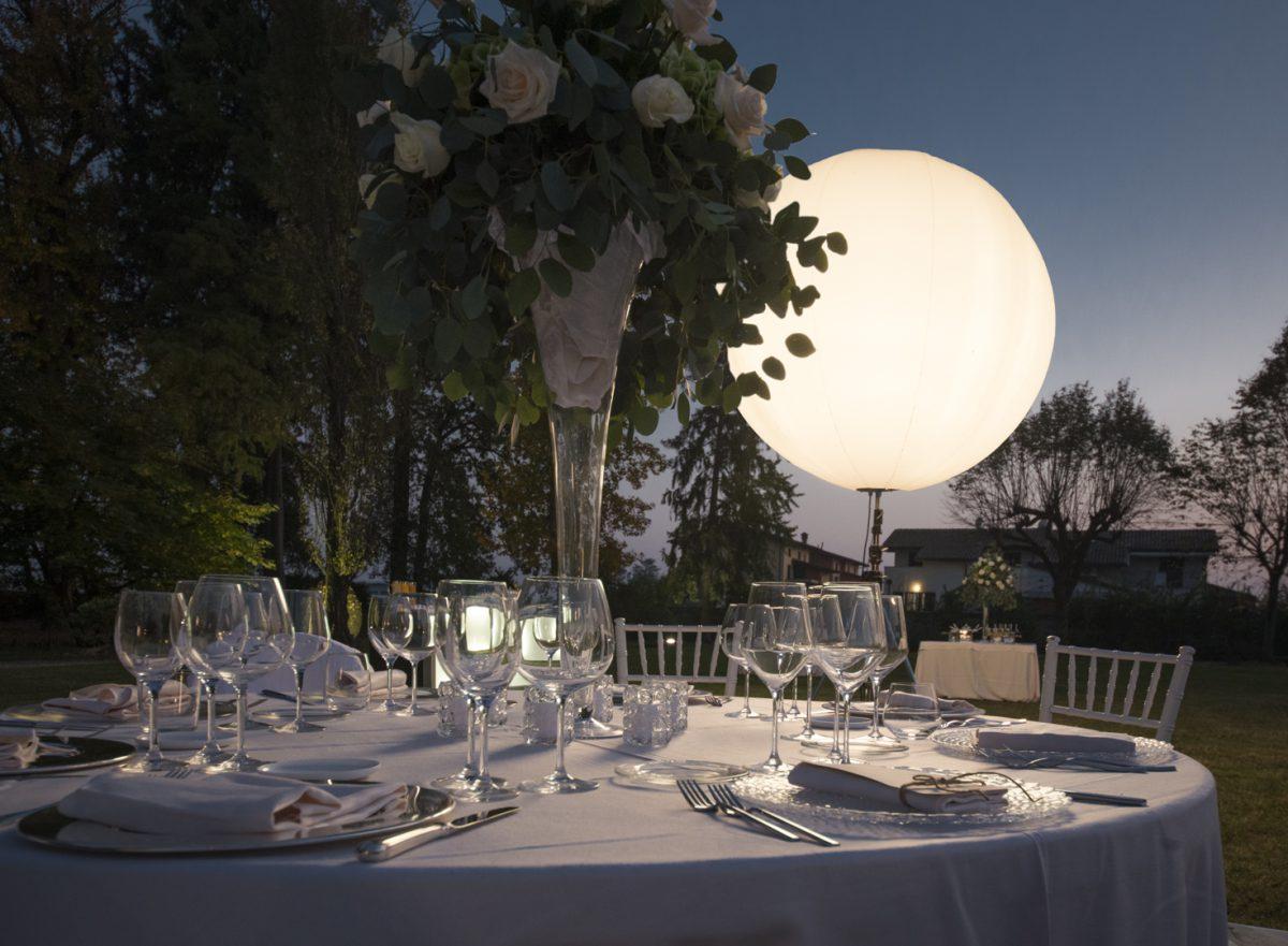 illuminazione matrimonio
